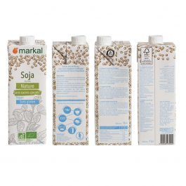 Lait de soja Nature BIO sans sucres ajoutés
