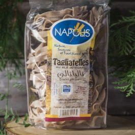 Pâtes intégral Tagliatelles N°1 au blé complet BIO, Napolis