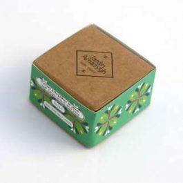 Galet d'argile verte et huile essentielle de tea tree et lavande