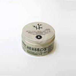 Crème Déodorante aux Poudres Naturelles et Huiles Essentielles Herbéos
