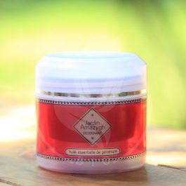Déodorant crème à l'huile essentielle de géranium