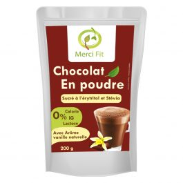 Chocolat en poudre Stevia